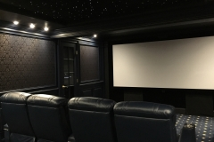 Dedicated Home theater with Fusion Collection Jive-1013 recliners