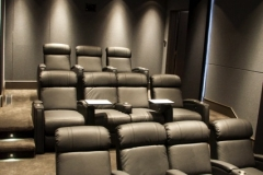Large Home Theater with Fusion Collection Jive-1013 recliners