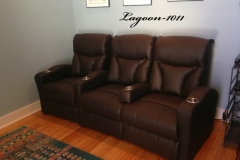 Fusion Collection Lagoon-1011 recliners in bonded leather