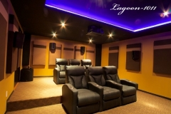 Fusion Collection Home Theater Lagoon-1011 motorized recliners