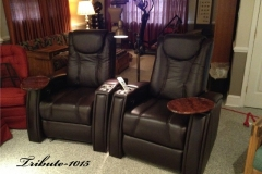 Fusion Collection Theater seating - Tribute-1015 motorized recliners
