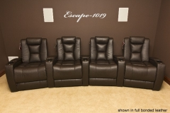 Brown Fusion Collection Escape-1019 recliners