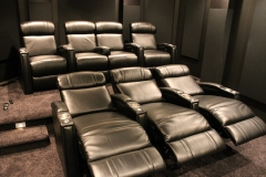 Fusion Collection Jive-1013 recliners in top grain leather