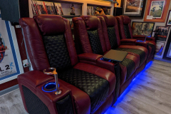 Fusion Collection Landmark-1021 top of the line home theater recliners
