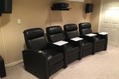Fusion Collection Home Theater Jive-101 recliners