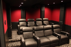 Red Theater w/Jive-1013 recliners