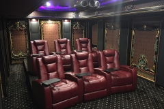 Ultra High End Theater with custom Fusion Collection Seating