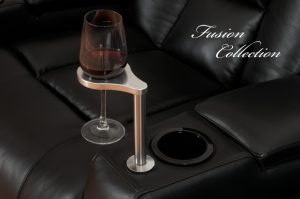 Wine Glass Holder w/glass of wine