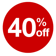 40 Off discount